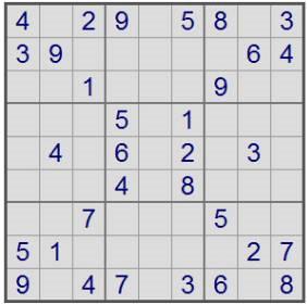sudoku-problem